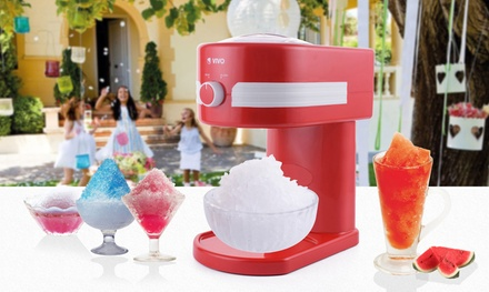 Retro Slushy Maker Machine Kit with Optional Syrup