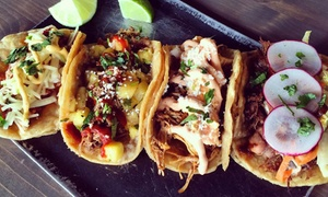 BBQ-Mexican Fusion Fare at Righteous Cuisine (Up to 50% Off). Three Options Available.