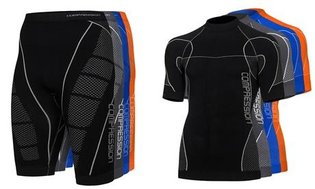 Abbigliamento tecnico Compression Freenord con pantaloncino e maglietta disponibili in vari colori e taglie