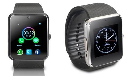 Smartwatch multifunción con cámara, notificaciones y monitor de actividad