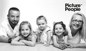PicturePeople: 90 od. 105 Min. Family-/Kids-Fotoshooting-Erlebnis inkl. Make-up u. 3-4 Bildern als Ausdruck u. Datei bei PicturePeople