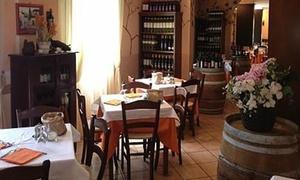 CHARIOT: Menu alla carta con astice e bottiglia di vino, fino a 6 persone da Chariot (sconto fino a 67%)