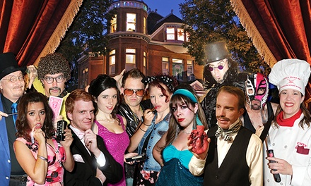$45 for VIP Murder-Mystery Dinner Package at Lumber Baron Mystery Mansion (Up to $79.99 Value)