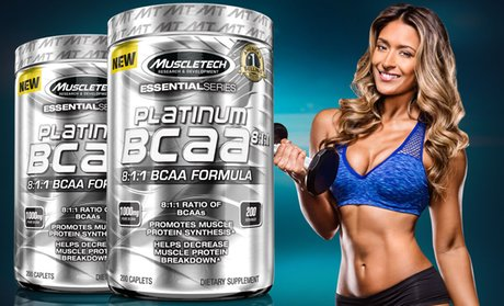 Platinum BCAA 8:1:1 Weight Lifting Supplement (200-Count)