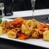 Menu con 1 kg di pesce sul lago di Garda