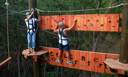 $45.99 for 90-Minute Aerial Adventure Course for One at Coral Crater Adventure Park ($59.99 Value)
