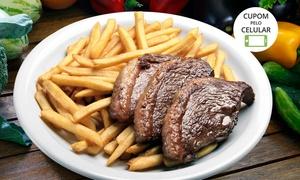 Recanto da Picanha - Unidade Plínio de Castro: Recanto da Picanha – Jardim Palma Travassos: almoço ou jantar combife ancho e acompanhamentos para 2 ou 4 pessoas