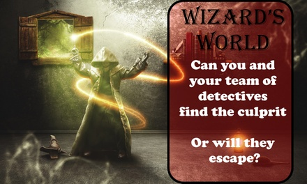 groupon.co.uk - GPS-Based Mystery Wizard Game for Up to Six at Tik Tock Time (57% Off)