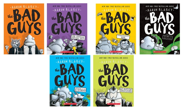 up to 17 off on the bad guys series books 1 6 groupon goods