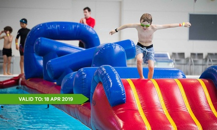 $20 for SplashOUT Family Pass at Melbourne Sports & Aquatic Centre Up to $26 Value