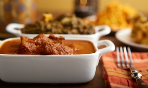 Bombay Clay Oven: One or Three Groupons, Each Good for $20 Worth of Indian Cuisine and Drinks at Bombay Clay Oven (40% Off)