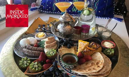 Brunch Board with Coffee and Cocktails for Two ($39) or Four People ($69) at Inside Morocco (Up to $182 Value)