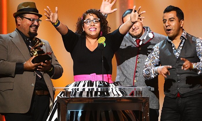 Grammy Winning La Santa Cecilia and Las Cafeteras - Jim Rouse Theatre: Columbia Festival of the Arts presents: La Santa Cecilia and Las Cafeteras on Saturday, April 16, at 6 p.m.