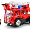 Mini Pumper Fire Rescue Bump and Go Toy Truck