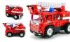 Mini Pumper Fire Rescue Bump and Go Toy Truck: Mini Pumper Fire Rescue Bump and Go Toy Truck