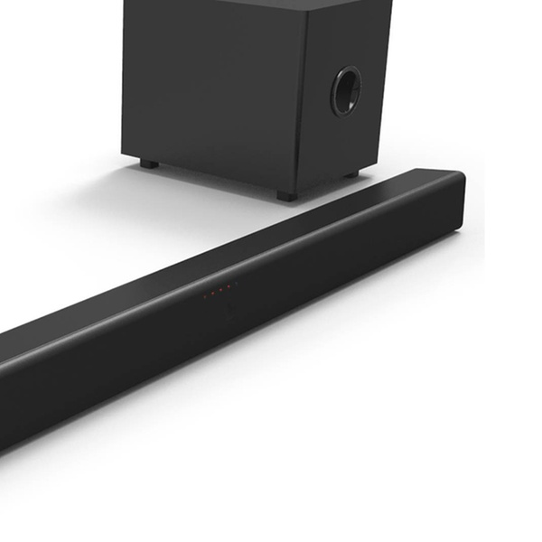 664fb7b5899 Sanyo 2.1-Channel Sound Bar with Wireless Subwoofer (Refurbished) | Groupon