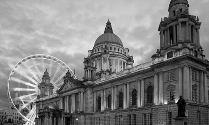 Belfast by Allen's tours - Belfast: Open-Top Bus Tour of Belfast For Two (£9) or Four (£18) from Allen's Tours (50% Off)