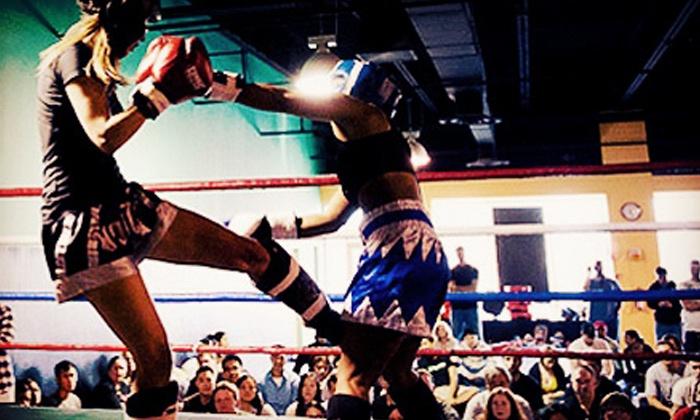 Capital MMA & Elite Fitness - Multiple Locations: 5 or 10 Classes at Capital MMA & Elite Fitness (Up to 78% Off)