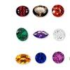 Loose Genuine Gemstone Set with Storage Tray (12-Piece)