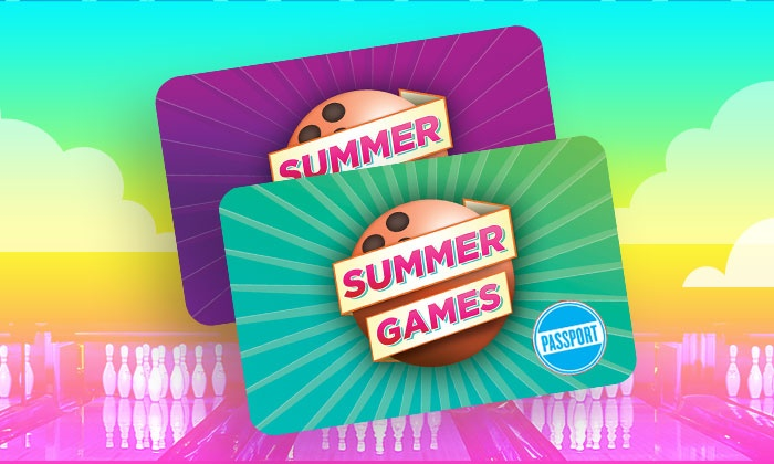 Summer Games Bowling Passport - Bowl Every Day This Summer
