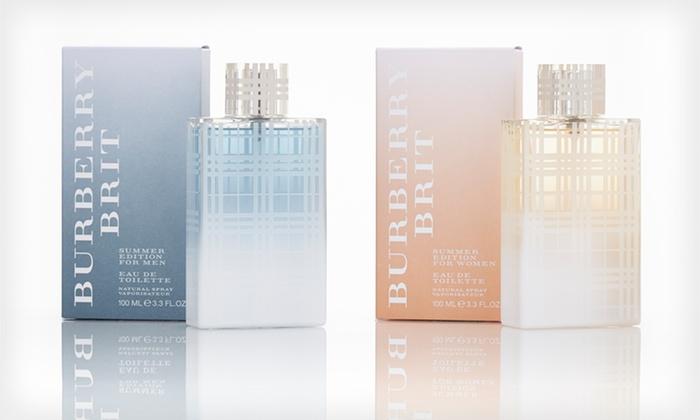 Burberry Brit Summer Edition Fragrance: Burberry Brit Summer Edition Eau de Toilette Spray for Men or Women; 3.3 Fl. Oz.