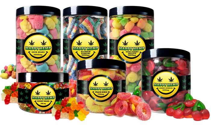 CBD Gummies from Happy Hemp | Groupon