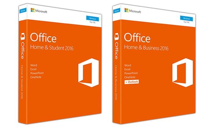 EPTIMUM: Office Home & Business 2016 (bis zu 28% sparen*)