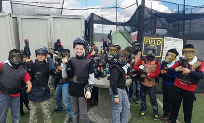 image for Admission for Two, Four, or Six for Low Impact <strong>Paintball</strong> from <strong>Paintball</strong> Tickets (Up to 90% Off)