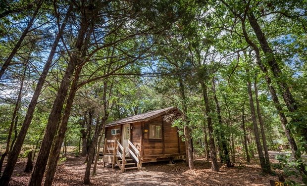 TripAlertz wants you to check out 2- or 3-Night Stay for Four in a Cabin at Lake Texoma RV Campground in Gordonville, TX. Combine Up to 5 Nights. RV Campground near Lake Texoma - RV Resort near Lake Texoma in TX
