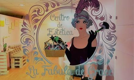Sesión de extensión de pestañas con look natural y relleno opcional desde 29,95 € en Centro Estético La Fábula De Grace