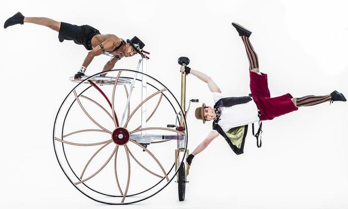 ARTS San Antonio - Majestic Theatre: Pedal Punk Cirque Mechanics on Friday, April 1, at 7:30 p.m.