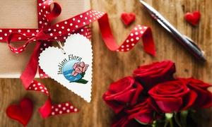 Buono fiori San Valentino: ItalianFlora: Buono sconto di 20€ per mazzi di fiori o composizione per San Valentino consegnati a domicilio in giornata