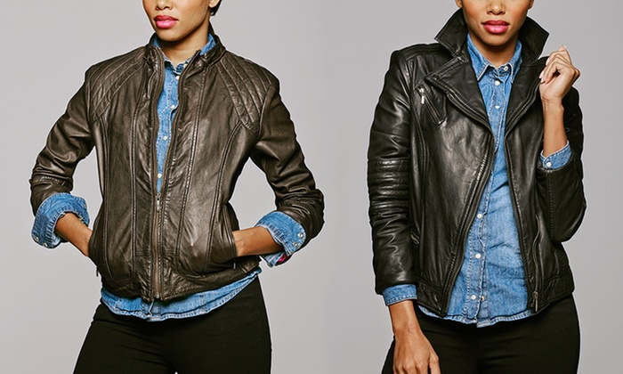 Cole Haan: Cole Haan Moto Jackets. Multiple Styles Available.