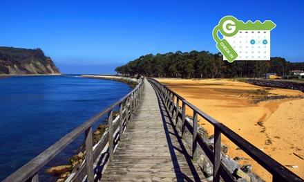 Asturias: estancia para 2 personas con desayuno, late check-out y detalle de bienvenida en Hotel Arcea Villaviciosa