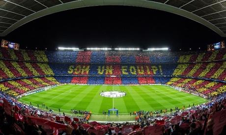 Barcelona: 1, 2 o 3 noches en hotel 4* con desayuno y visita al Camp Nou o tour turístico en autobús para 1 persona