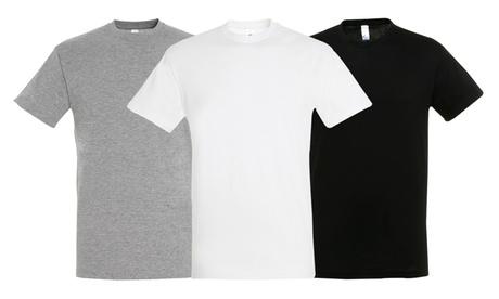Pack de 5 o 10 camisetas de algodón