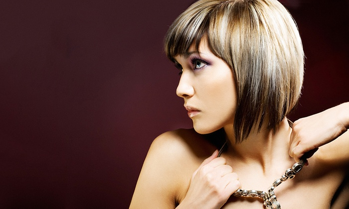 Nicky Wayne at Heritage Salon and Spa - Heritage Salon and Spa: Haircut and Style Packages with Optional Highlights from Nicky Wayne (Up to 61% Off). Three Options Available.