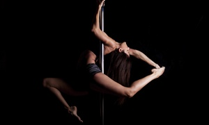 Spin Sity Dance Studio: Four Pole-Dancing Classes or One-Hour Pole Teazze Party for Up to Eight at Spin Sity (50% Off)