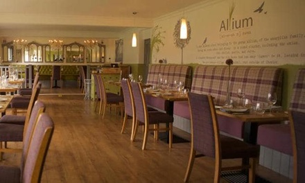 TwoCourse Meal for Two or Four at The Allium