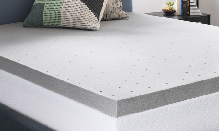 Up To 45 Off On Bamboo Charcoal Mattress Topper Groupon