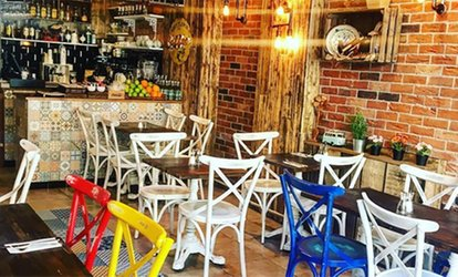 image for Mexican Starter and Main with Cocktails for Two at Cafe Mexicana (Up to 58% Off)