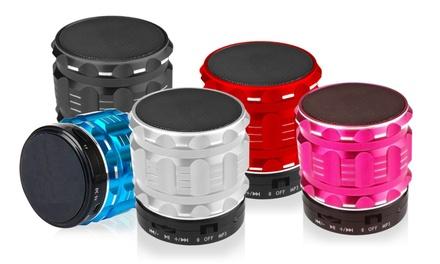 Bluetooth 4.0 Outdoor Speaker mit integriertem Subwoofer in Metallfassung in der Farbe der Wahl inkl. Versand (Statt: 79,95 € Jetzt: 14,90 €)