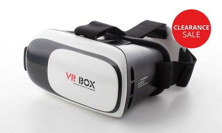 3D Virtual Reality Headset for R349 Including Delivery (42% Off)