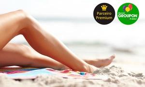 Emporium da Beleza – Balneário Camboriú: #NiverGroupon – Emporium da Beleza – Balneário Camboriú: 6, 12 ou 18 sessões de depilação a laser LightSheer