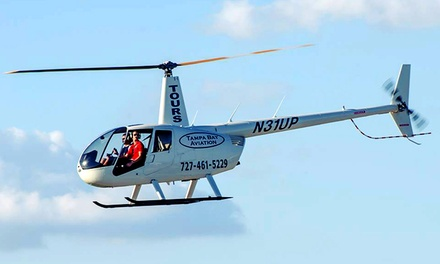 $169 for a Helicopter-Flying Lesson with a Simulator Session and Flight at Tampa Bay Aviation ($312 Value)