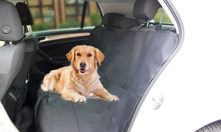 Goodyear Heavy Duty Rear Car Seat Cover for Pets