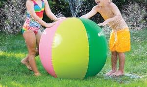 Inflatable Sprinkler Beach Ball