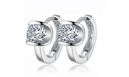One or Two Pairs of Diana Earrings Made with Crystals from Swarovski® from £6.98