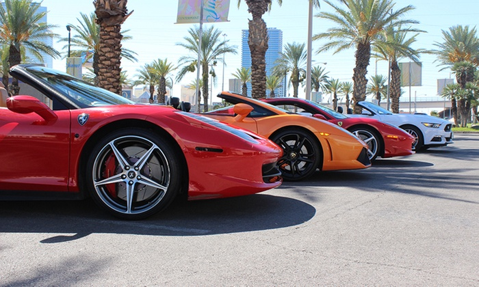 Exotic Driving Experiences Up To 20 Off Las Vegas Nv