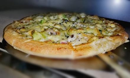 Menú para 2 o 4 personas con pizza, postre y bebida en El Gato Goloso (44% de descuento)